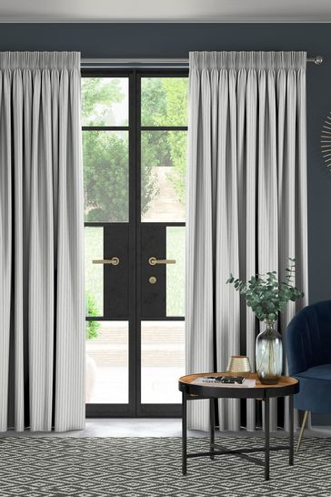 Slate Grey Pero Made To Measure Curtains