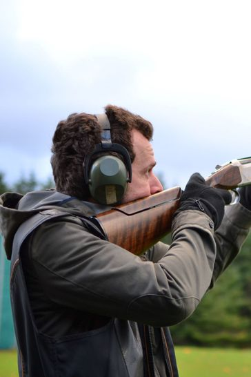 Clay Pigeon Shooting Day Out For Two
