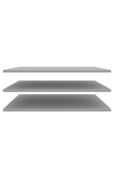 Monroe 1M Large Additional Internal 3 Shelf Set