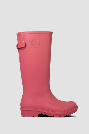 FitFlop™ Pink Wonderwelly Tall Wellington Boots