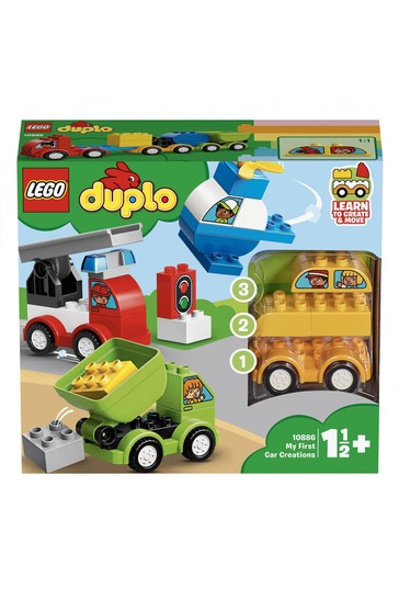 LEGO® DUPLO® Car Creations Toy Cars For Toddlers 10886