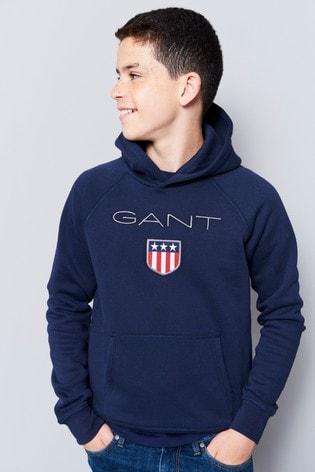 GANT Teen Boys Shield Hoodie