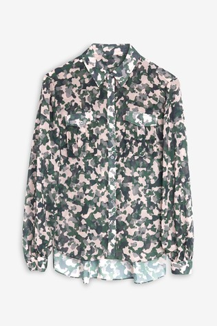 Next/Mix Printed Shirt