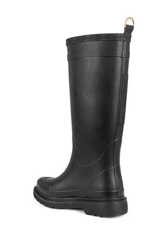 Ilse Jacobsen Black Rubber Boot