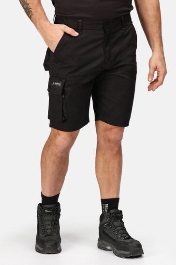 Regatta Black Heroic Cargo Shorts