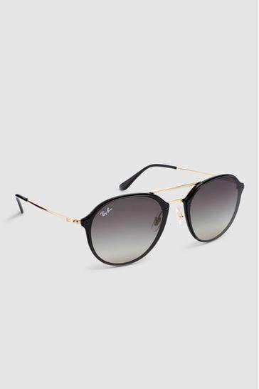 Ray-Ban® Black Blaze Doublebridge Sunglasses