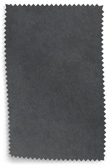 Opulent Velvet Charcoal Fabric Sample
