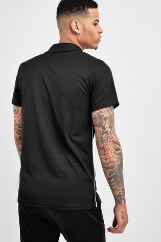 adidas Black Core18 Polo