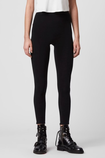 AllSaints Black Bri Legging