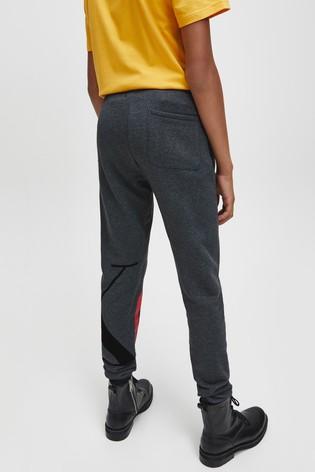Calvin Klein Jeans Grey Exploded Monogram Sweatpants