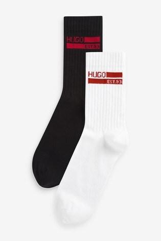 HUGO 2 Pack Socks Gift Set