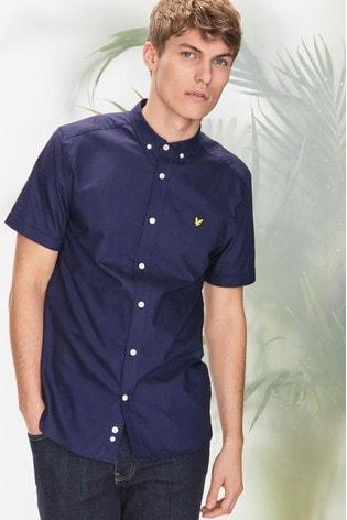Lyle & Scott Short Sleeve Oxford Shirt