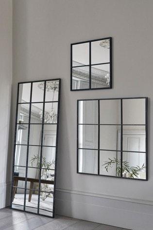 Metal Window Small Mirror