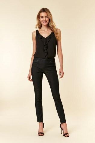Wallis Blue Indigo Demi Side Zip Jean