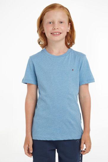 Tommy Hilfiger Blue Basic T-Shirt