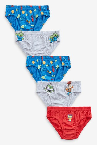 Multi 5 Pack Disney™ Toy Story Briefs (1.5-8yrs)