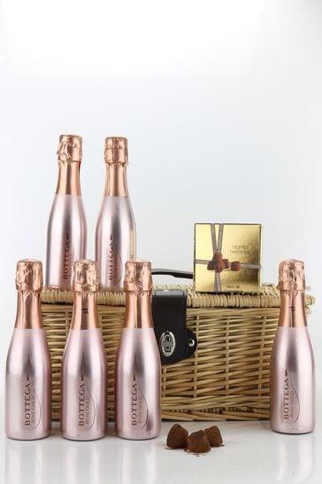 Le Bon Vin Pink And Sparkly Rosé Hamper