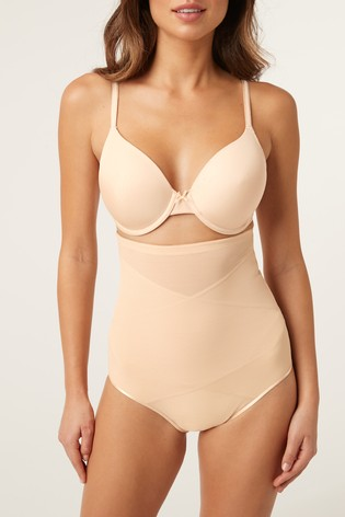 Nude Firm Control High Waist Knickers