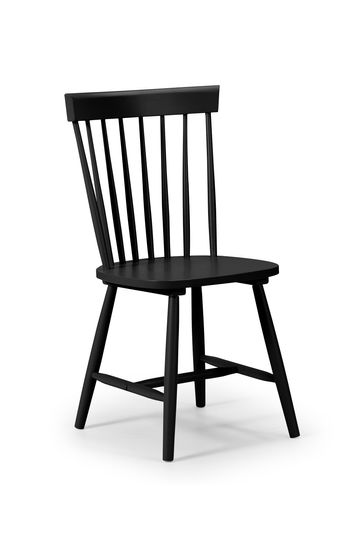 Julian Bowen Torino Black Chair