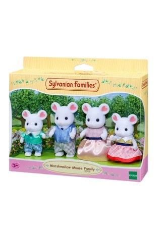 Sylvanian Families Marshmallow Family