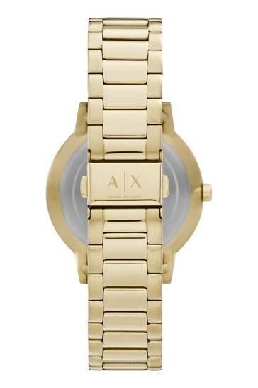 Armani Exchange Cayde Watch & Bracelet Gift Set