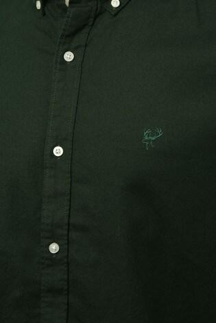 M&Co Men Green Oxford Shirt