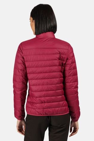 Regatta Purple Womens Whitehill Baffle Jacket