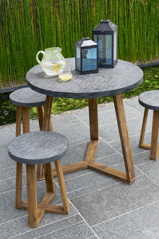 Cement Effect Dining Table