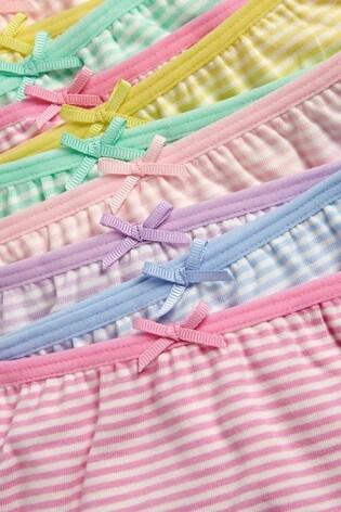 Multi Stripe Briefs Ten Pack (1.5-16yrs)