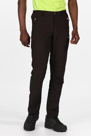 Regatta Black Geo Softshell Ii Trousers