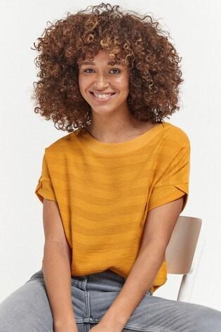 Ochre Stripe T-Shirt