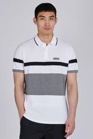 Barbour® International Clax Stripe Polo Shirt