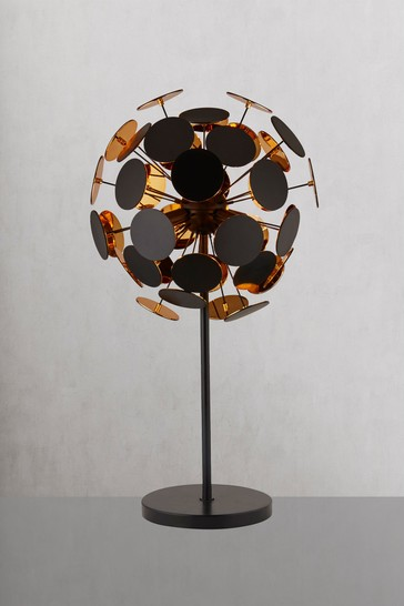 Searchlight Black Roco 3 Light Table Lamp