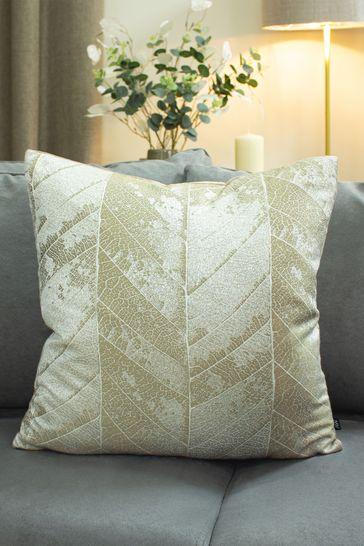 Ashley Wilde Natural Myall Leaf Cushion