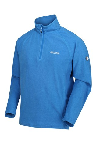Regatta Blue Montes Half Zip Fleece