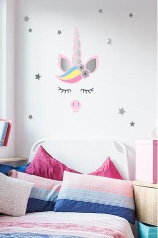 Unicorn Wall Art Autocollant Décalque