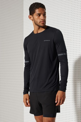 Superdry Feather Weight Run Long Sleeve Top