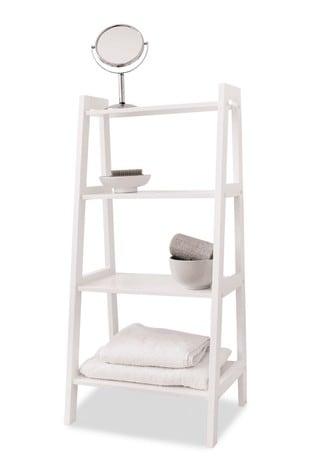 Lloyd Pascal White Ladder Shelves