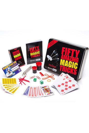 Marvin's Magic Fifty Amazing Magic Tricks Gift Tin