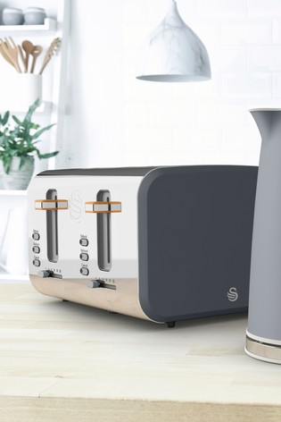 Swan Nordic 4 Slot Toaster