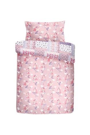 Mermaid Duvet Cover and Pillowcase Set by Bedlam