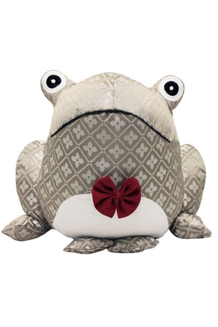 Jacquard Frog Doorstop by Riva Home
