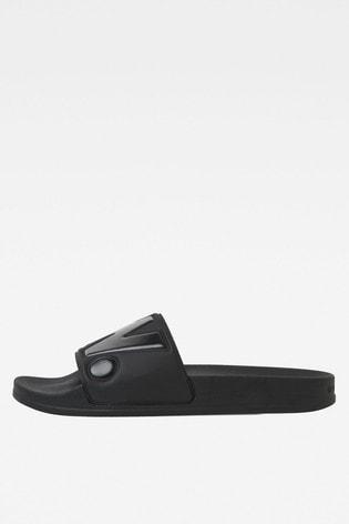 G-Star Black Cart Slide II Sandal