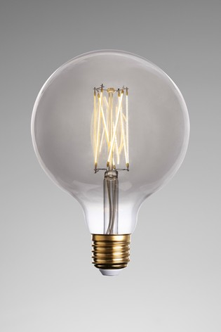 4W LED ES Smoke Large Globe Bulb