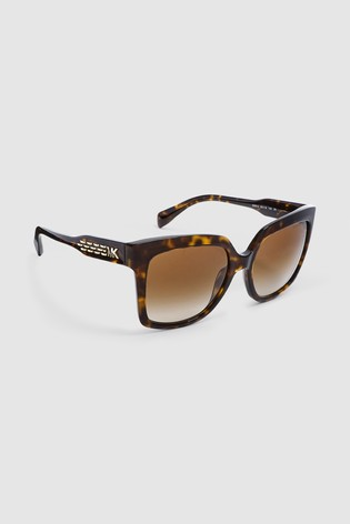 Michael Kors Dark Tortoise Cortina Sunglasses