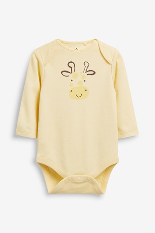 Multi 5 Pack GOTS Organic Cotton Character Long Sleeve Bodysuits (0mths-2yrs)