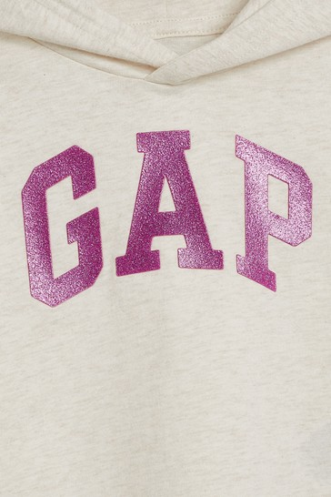 Gap Arch Logo Long Sleeve Hooded Top