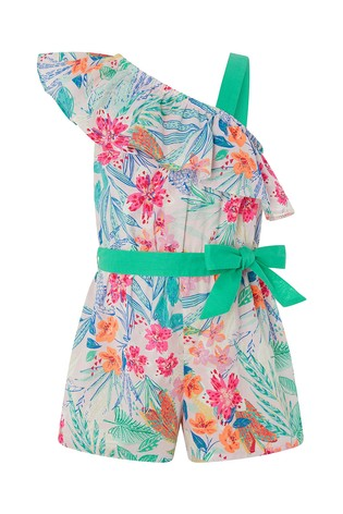 Monsoon Coco One Shoulder Playsuit