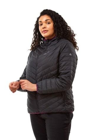 Craghoppers Black Complite Hooded Jacket