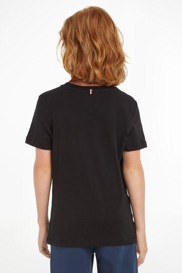 Tommy Hilfiger Black Basic T-Shirt